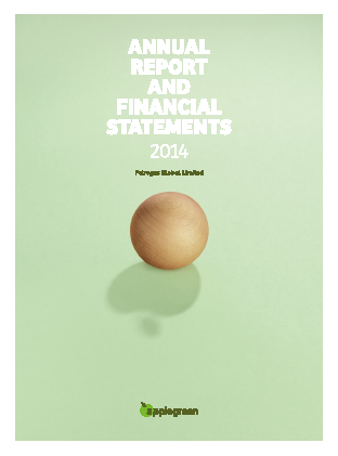 Applegreen Plc annual report 2014