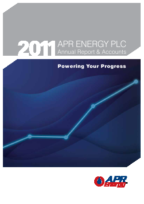 APR Energy Plc annual report 2011