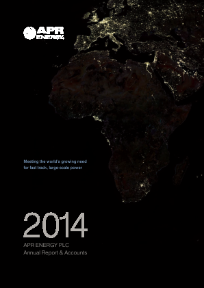 APR Energy Plc annual report 2014