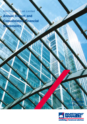 Axa Property Trust annual report 2014