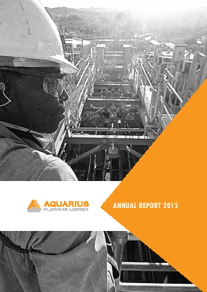Aquarius Platinum Limited annual report 2015