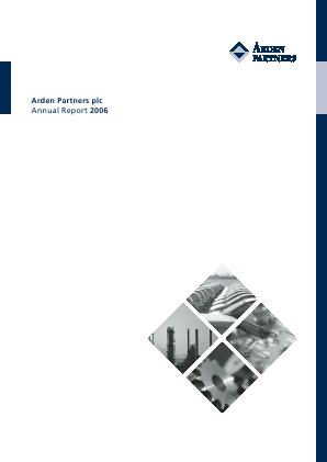 Arden Partners Plc annual report 2006