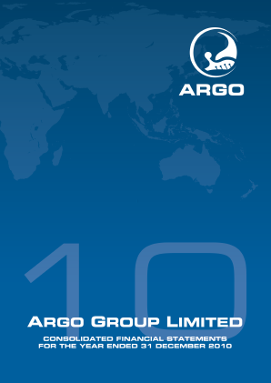 Argo Group Ltd annual report 2010