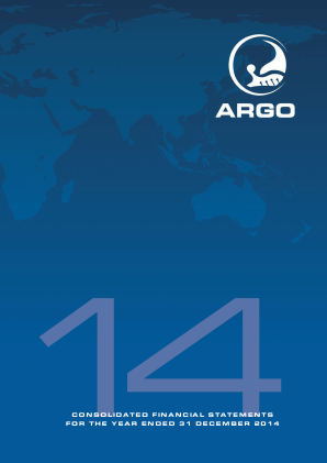 Argo Group annual report 2014