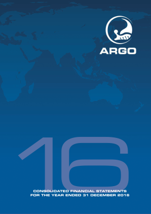 Argo Group annual report 2016