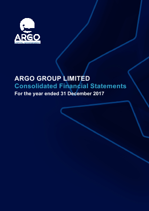 Argo Group annual report 2017
