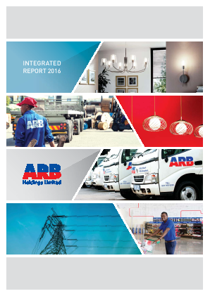 ARB Holdings annual report 2016