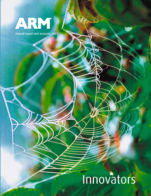 ARM Holdings annual report 2001