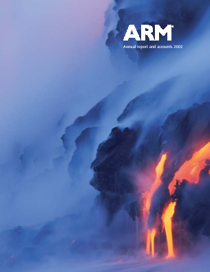 ARM Holdings annual report 2002