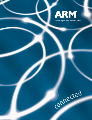 ARM Holdings annual report 2003