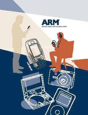 ARM Holdings annual report 2004
