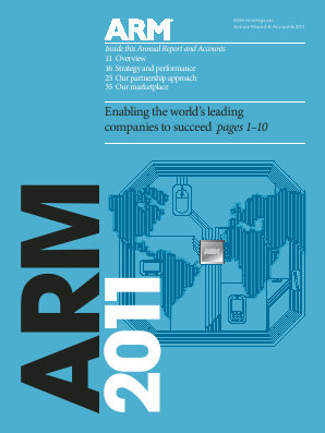 ARM Holdings annual report 2011