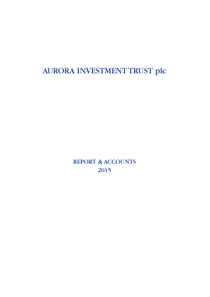 Aurora Investment Trust annual report 2015
