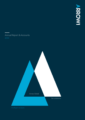 Arrow Global Group Plc annual report 2014