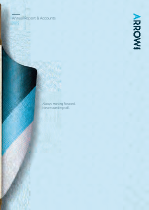 Arrow Global Group Plc annual report 2015