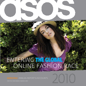 Asos annual report 2010