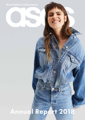 Asos annual report 2018