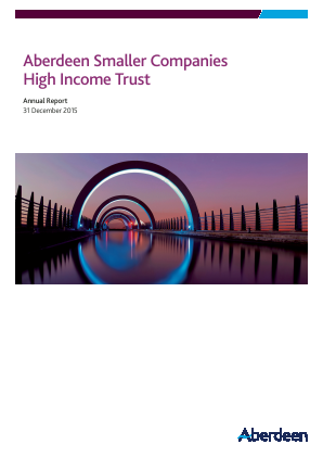 Aberdeen Smaller Companies Income Trust PLC (formerly Aberdeen Smaller Companies High Income Trust PLC) annual report 2015