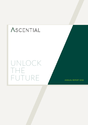Ascential annual report 2018