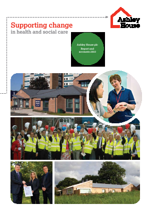 Ashley House Plc annual report 2010