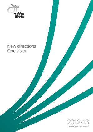 Ashley House Plc annual report 2013