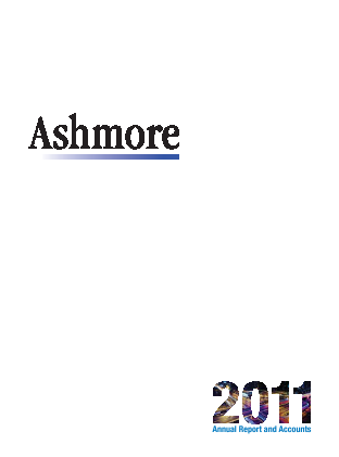 Ashmore Group Plc annual report 2011