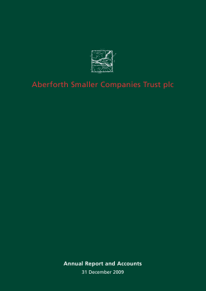 Aberforth Smaller Companies Trust annual report 2009