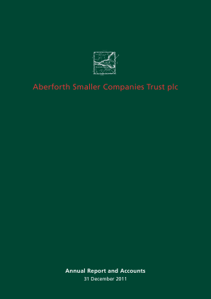 Aberforth Smaller Companies Trust annual report 2011
