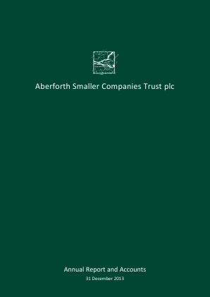 Aberforth Smaller Companies Trust annual report 2013