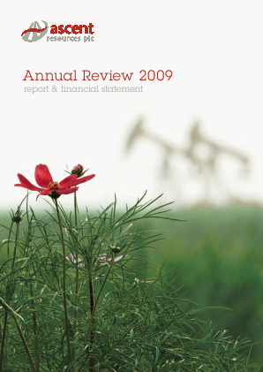 Ascent Resources annual report 2009