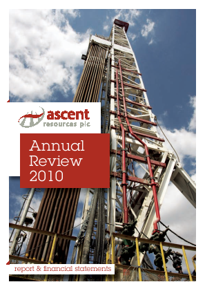 Ascent Resources annual report 2010