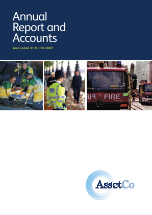 Assetco Plc annual report 2007