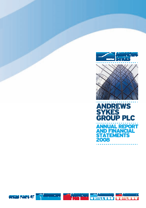 Andrews Sykes Group annual report 2008