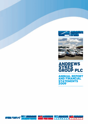 Andrews Sykes Group annual report 2009