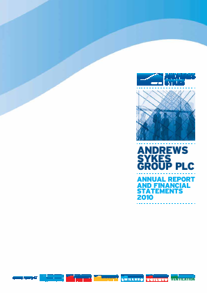 Andrews Sykes Group annual report 2010