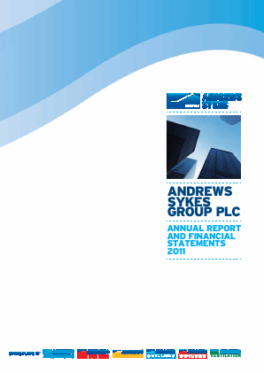 Andrews Sykes Group annual report 2011