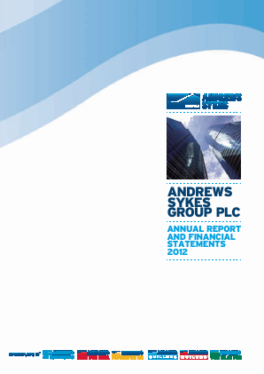Andrews Sykes Group annual report 2012