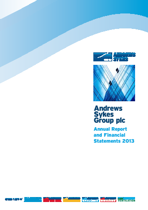 Andrews Sykes Group annual report 2013