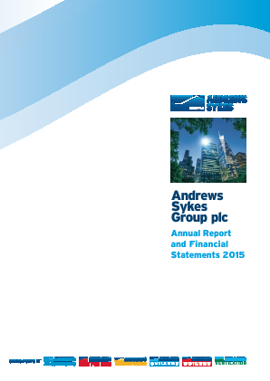 Andrews Sykes Group annual report 2015