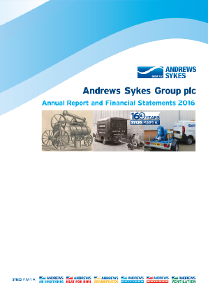 Andrews Sykes Group annual report 2016