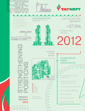 Tatneft PJSC annual report 2012