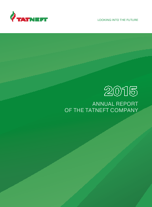 Tatneft PJSC annual report 2015