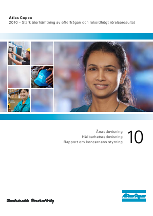 Atlas Copco annual report 2010
