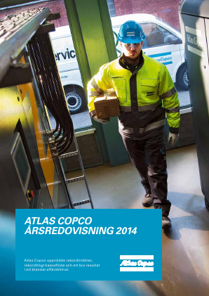 Atlas Copco annual report 2014