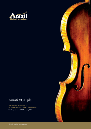 Amati VCT Plc annual report 2015