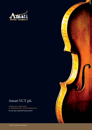 Amati VCT Plc annual report 2017