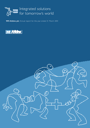 Atkins(WS) annual report 2001