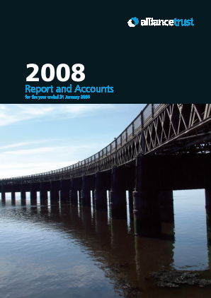 Alliance Trust annual report 2008