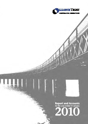 Alliance Trust annual report 2010