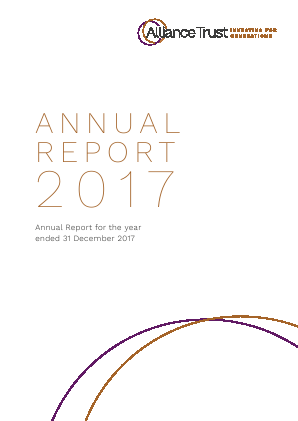 Alliance Trust annual report 2017